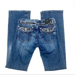 Miss Me Boot Cut Jeans, Size 14, EUC